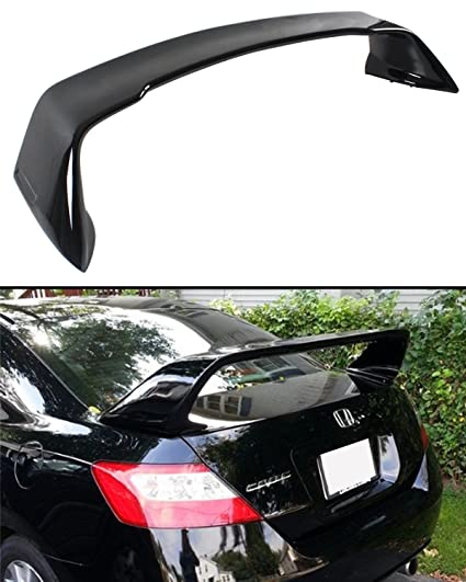 FOR 2006 2011 8TH GEN HONDA CIVIC 2 DOOR COUPE PAINTED BLACK MUG RR STYLE
