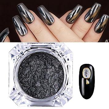 Amazoncom Exteren Mirror Powder Chrome Effect Pigment Nails New