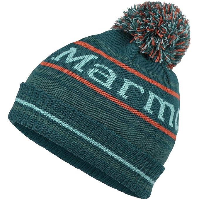 a6c99b33de6 Image Unavailable. Image not available for. Color  Marmot Retro Pom Hat -  Boys  Deep Teal