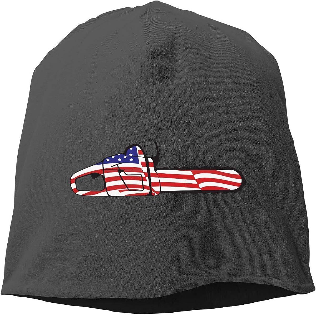 Lady Funny Day - Gorra unisex para motosierra, diseño de bandera estadounidense