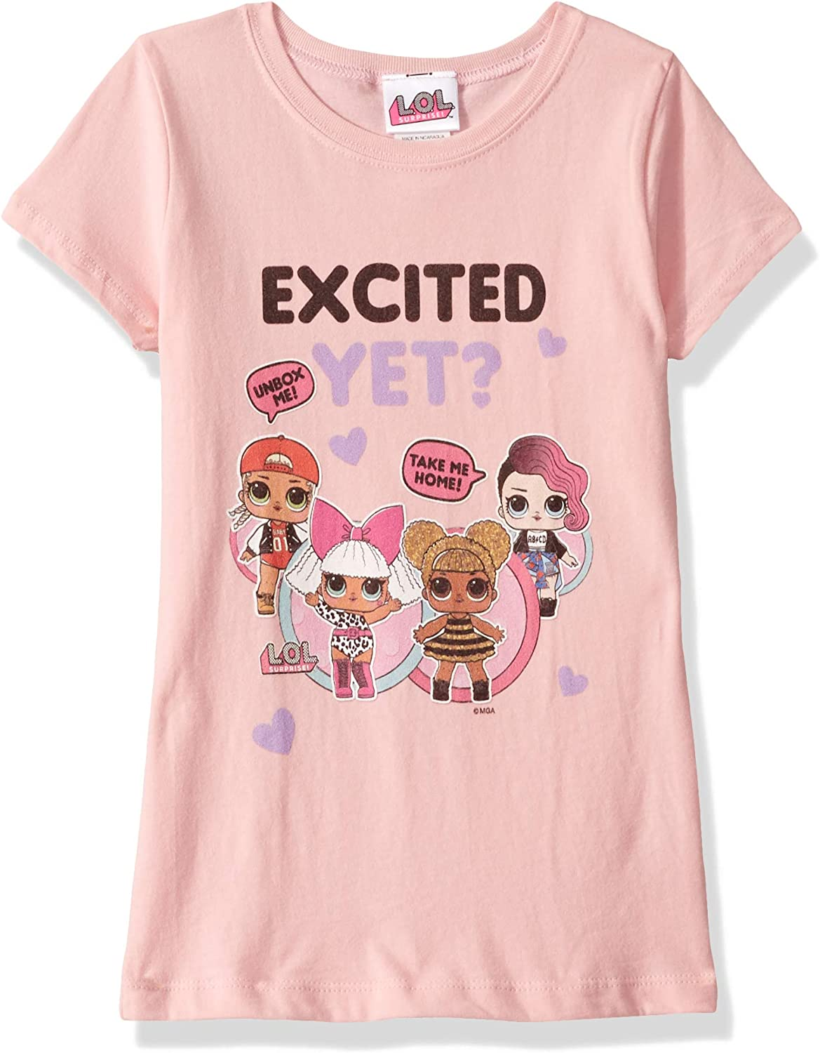 pink glitter /& animal print shirt LOL Surprise doll accessories outfits clothes