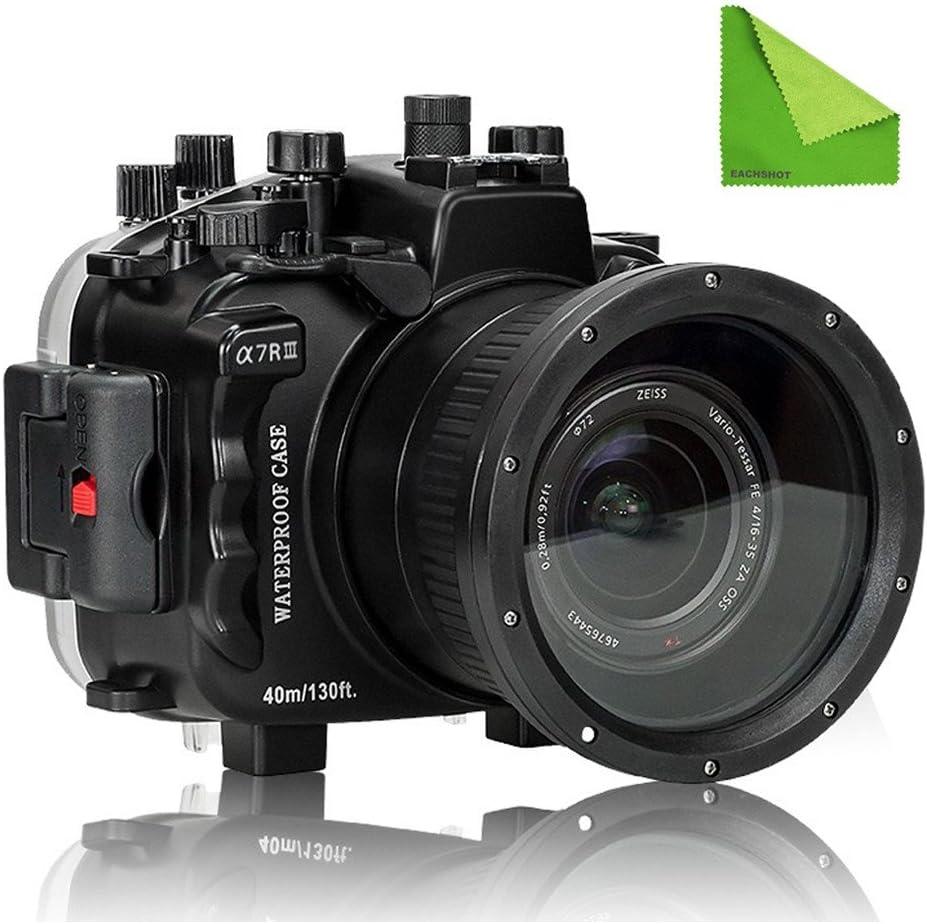 EACHSHOT Seafrogs - Funda para cámara de fotos bajo el agua de 40 ...
