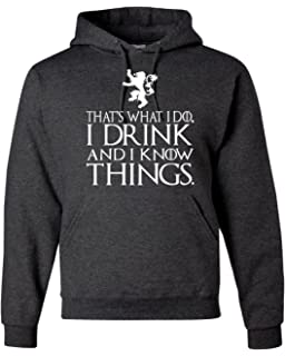Thats What I Do Unisex Hoodie Dark Heather