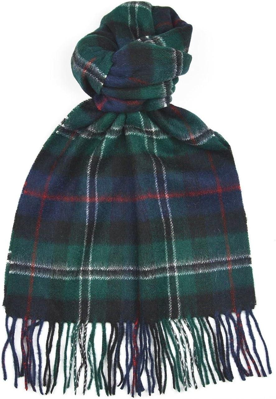 Scottish 100 /% Authentic Wool Tartan Rose Hunting Clan Scarf New !