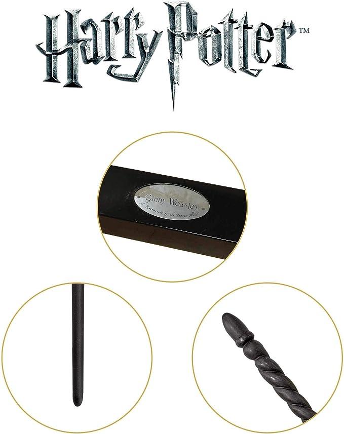 DFGHJKNN Accessoires De Cosplay Baguette Magique,Baguette Magique Ginny Weasley,Formation De Baguette Dassistant M/étallique De Base,Meilleur Cadeau pour Enfants Adultes,36 Cm