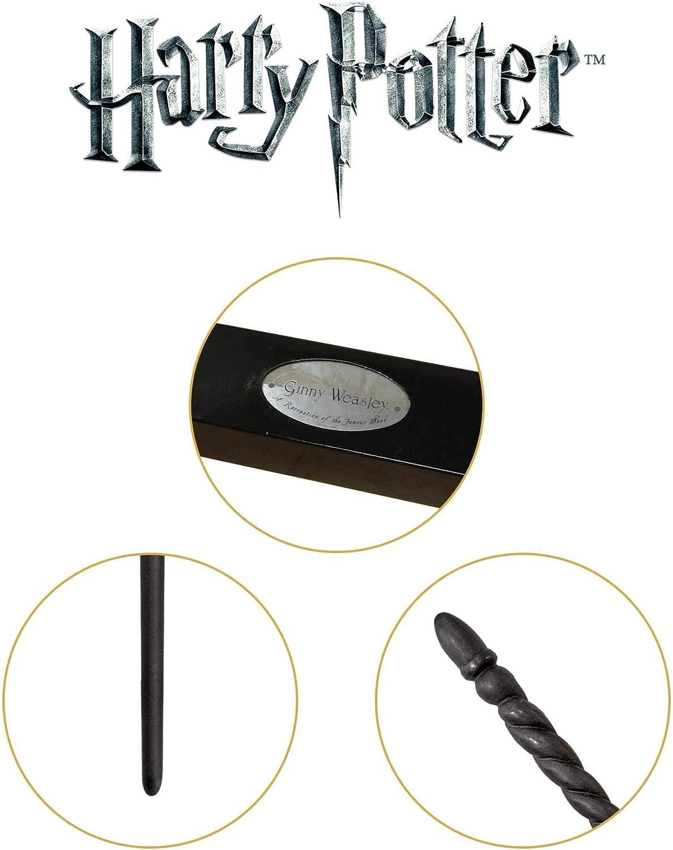 The Noble Collection Ginny Weasley Varita de Personaje