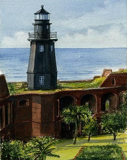 Amazon.com Tortugas Harbor Lighthouse, Fort Jefferson