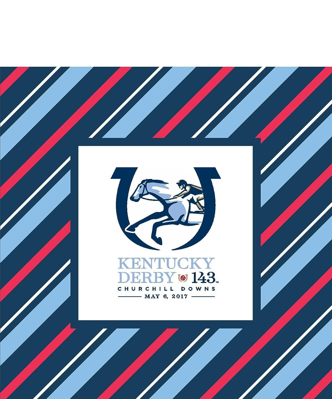 Kentucky Derby 2017 Beverage Napkins - 24/pkg.