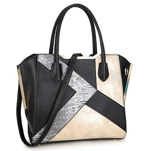 82d6aed01719 Snake Skin Patchwork Women Designer Handbags Vegan Leather Satchel Bags  Shoulder Bags Purses