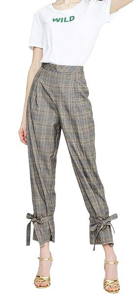 Pantalones De Traje De Mujer Elegante De Negocios Pantalones ...