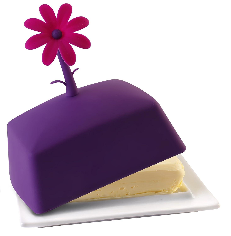 Vialli Design 230447 Silikon Butterdose gr/ün