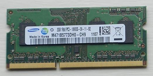 15 opinioni per Samsung- Modulo SO-DIMM, DDR3, 204 pin, 1333 Mhz, PC3-10600S, CL9, 256 M x8