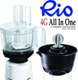 4G Food Processor and Cocunut Scrapper Attachment for only Philips Mixers HL1643/1645/1618/1629/1616