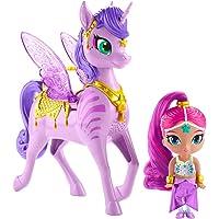 Shimmer And Shine Zahracornio mágico Volador, muñeca con Unicornio de Juguete, (Mattel GCM01)