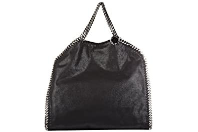 018be9fed84 Stella Mccartney sac à main femme falabella shaggy deer forever tote noir