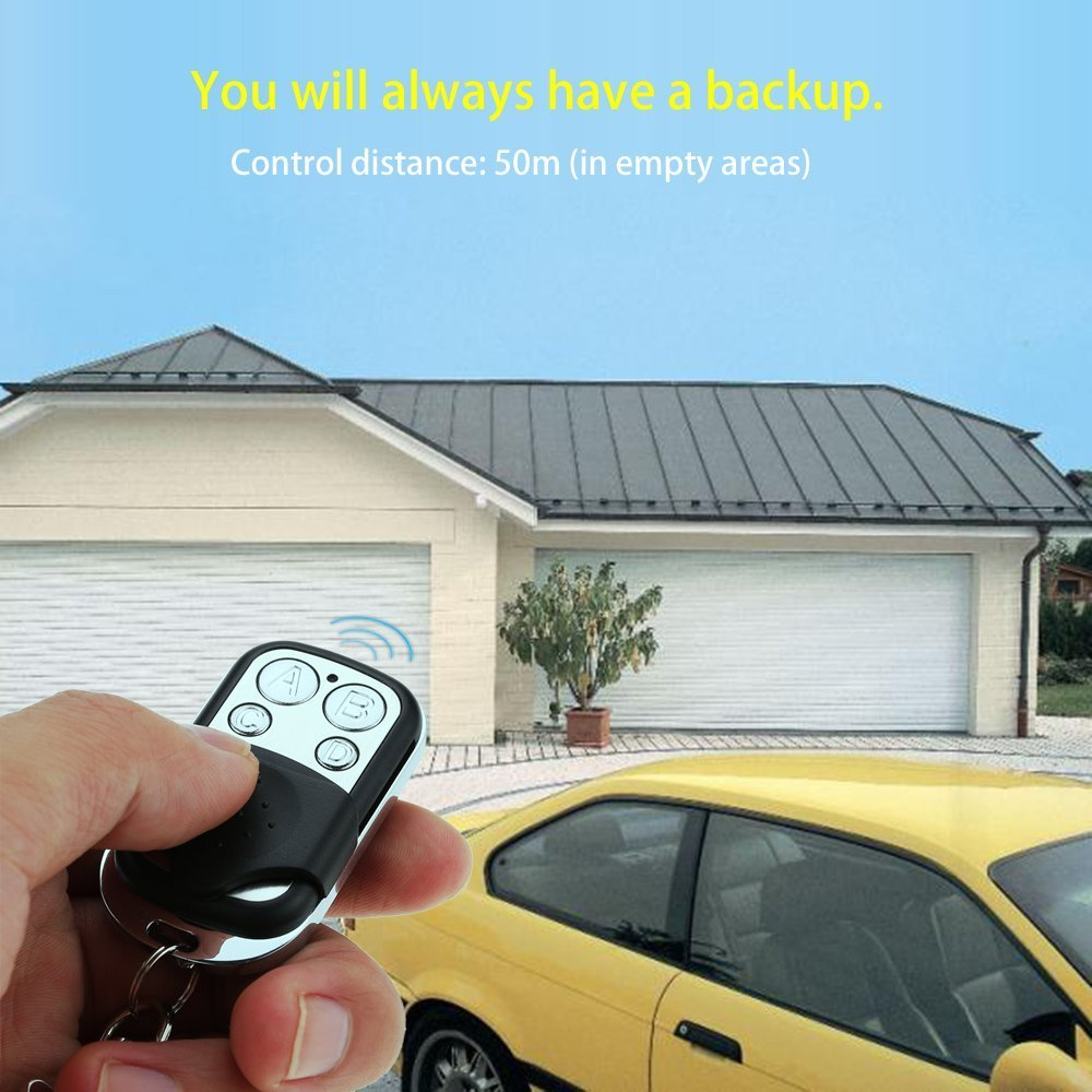 Mandos a distancia universales para puerta de garaje