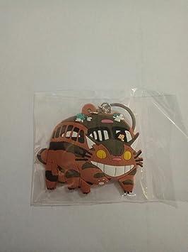 WoloShop Llavero de goma CatBus GatoBus Mi vecino Totoro ...