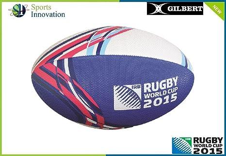 2015 Gilbert Mundial de fútbol Playa Pelota de Rugby: Amazon.es ...