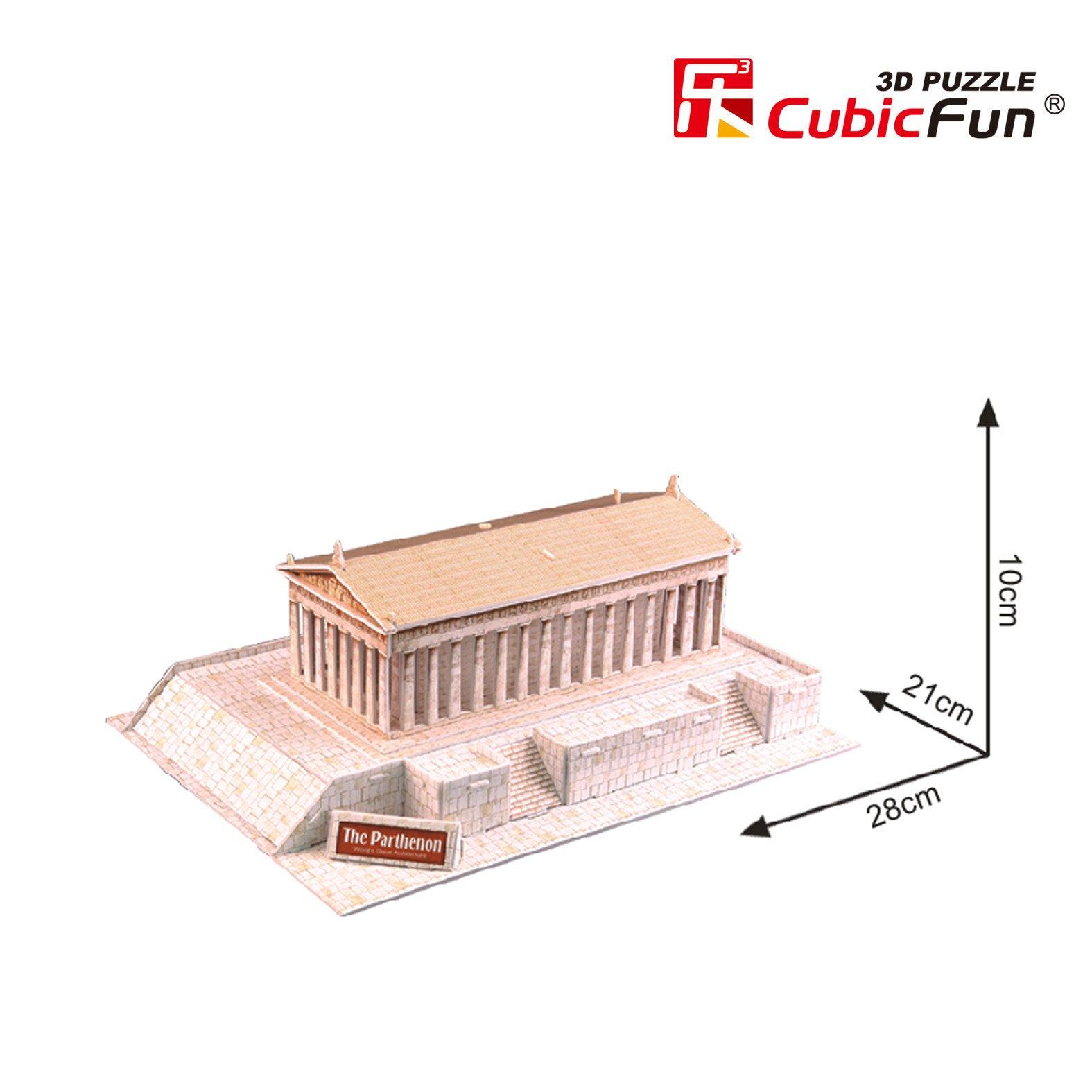 CubicFun Puzzle 3D de 24 Piezas Cubic Fun C076h
