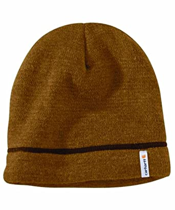836361dec12 Carhartt Maysville Acrylic Hat - Brown Mens Thinsulate Winter Beanie Ski Hat  CH100767211-One Size  Amazon.co.uk  Clothing
