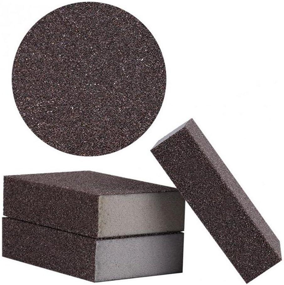 CUTICATE Paquet De 3 Feuilles De Polissage Pour /éponge De Pon/çage Couleur #60 Bloc De Papier Abrasif Grain 60-600#