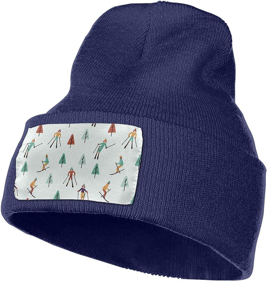 PCaag7v Deer Beanie Hat Winter Solid Warm Knit Unisex Ski Skull Cap