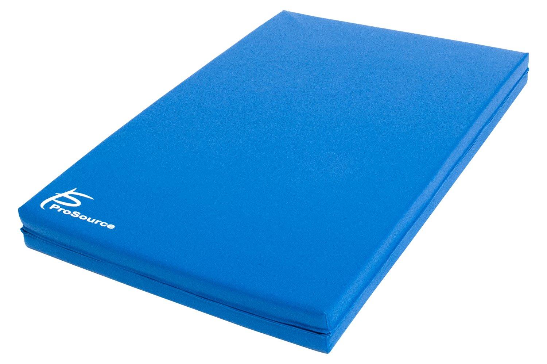 Prosource Bi Fold Folding Thick Exercise Mat 182cm X 60cm