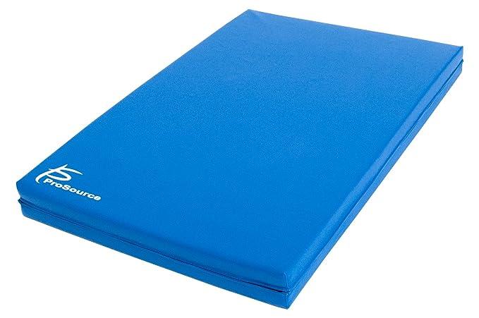 Amazon.com: ProSource - Tapete de ejercicio plegable en dos ...