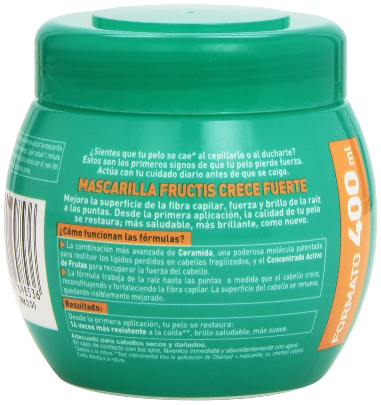 Garnier Fructis Crece Fuerte Mascarilla - 400 ml: Amazon.es: Amazon Pantry