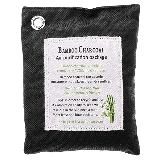 Xuniu 200g Bamboo Charcoal Bag, Desodorante de carbón Activado Que ...