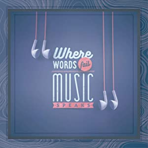 Music Gifts | 7x7 Tile Artwork Perfect for Musician | Music Lover Gift Ideas | Appreciation Gift for Teacher or Musicians | Inspirational Quote Decor for Studio, Home or Office