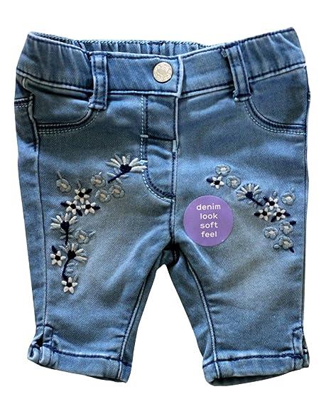 Pantalones vaqueros del niño de mezclilla bordados de ex ...