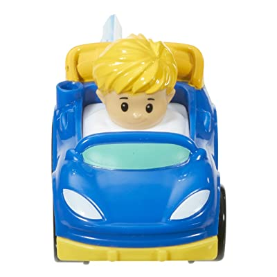 Fisher-Price Little People Wheelies Race Car: Toys & Games