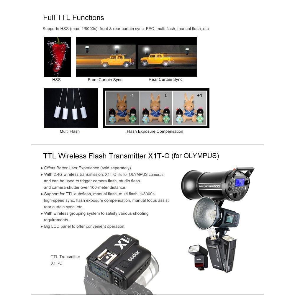 amazon com godox 3 pack tt685o gn60 1 8000s hss 0 1 2 s recycle rh amazon com meglio flash ttl o manuale
