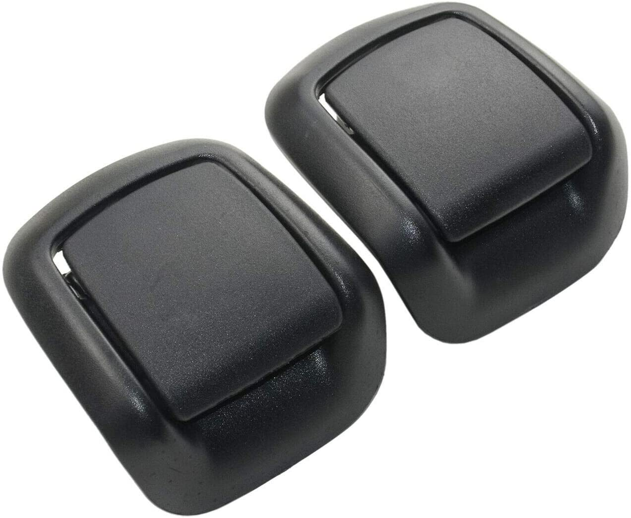 Black Plastic Tilt Handle Front Left Right 1417520//1417521