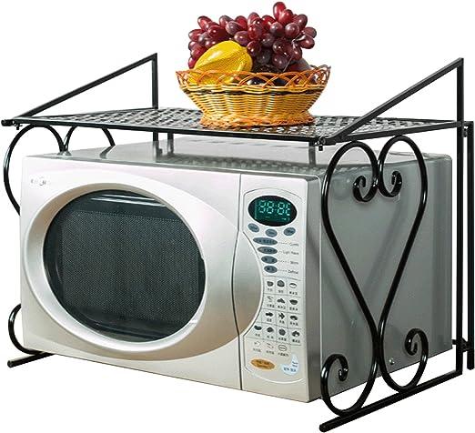 acornfort 2 niveles estante de microondas horno de metal (55 * 36 ...