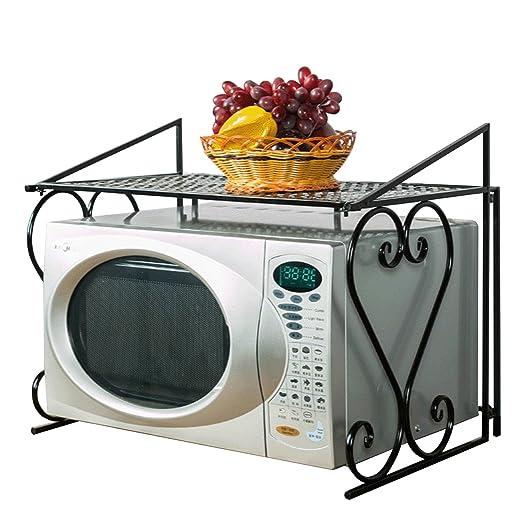 acornfort 2 niveles estante de microondas horno de metal (55 ...