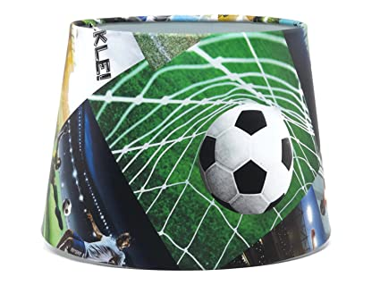 Football lampshade or ceiling light shade dual purpose 95 boys football lampshade or ceiling light shade dual purpose 95quot boys kids bedroom accessories lamp shade mozeypictures Images