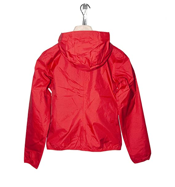 new product 312d5 f167d K-way K007LMO Giubbotto Donna Rosso M: Amazon.co.uk: Clothing