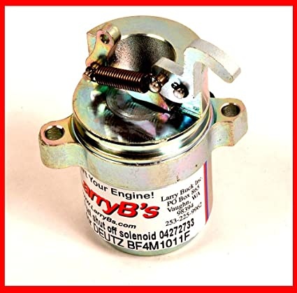 Amazon com: DEUTZ BF4M1011F Fuel shut off solenoid 04272733