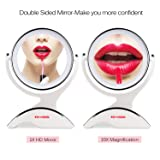 LED Lighted Makeup Mirror with 1X / 10X