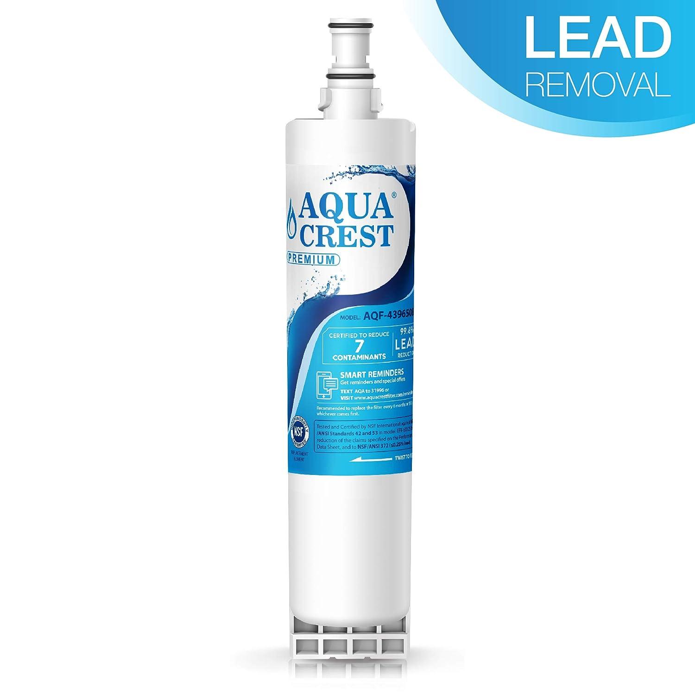 AQUACREST 4396508 NSF 53&42 Filtros de agua para frigorífico ...