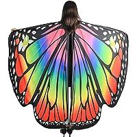 SIPU Women's Monarch Butterfly Shawl Costume