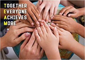 Creative Teaching Press Poster Together Everyone Achieves More Inspire U Poster, Gr. 3+ (7271)