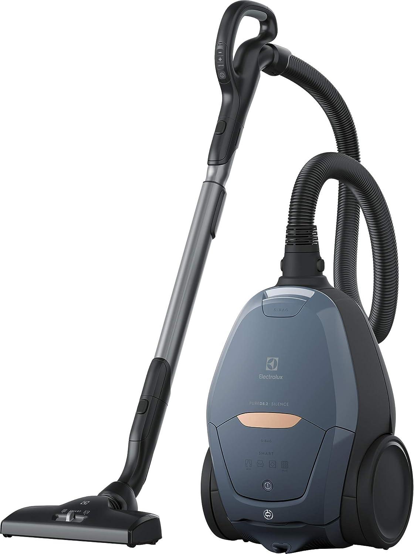 Electrolux PureD8 Green Pure D8 PD82-8DB - Aspirador Trineo con Bolsa Ultra-Silencioso - Regulador automático de Potencia SmartMode y tecnología PureSound - Color: Azul, Plastic: Amazon.es: Hogar