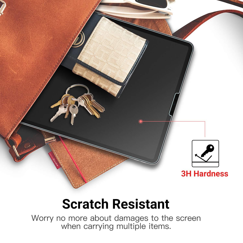 Pellicola Anti- Graffi MoKo Pellicola Prottetiva Protezione Schermo Compatibile con iPad PRO 12.9 2018 Transparente Tablet Accessori,Protezione per iPad PRO 12.9 inch 2018 Tablet