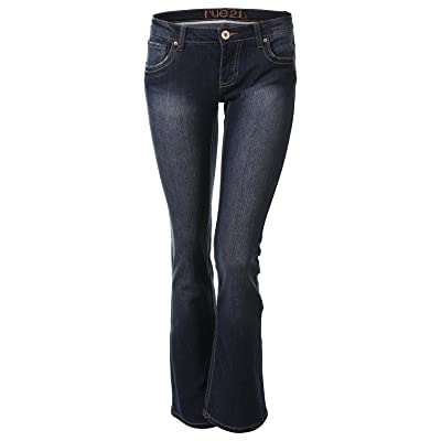 7 Encounter Rue21 Women's Bootcut Slim Jean With Embroidered Back Pocket