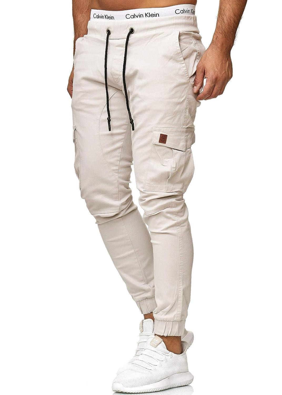 Skinny Fit Jeans OneRedox Herren Chino Pants Modell 3301