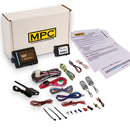 Amazon com: MPC Complete Remote Start Kit with Keyless Entry for