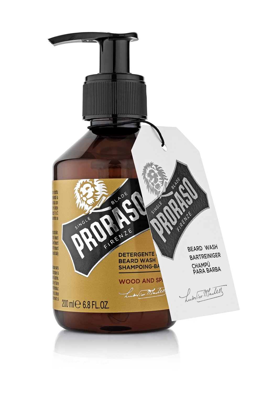 Proraso Beard Wash Wood & Spice, 200 ml
